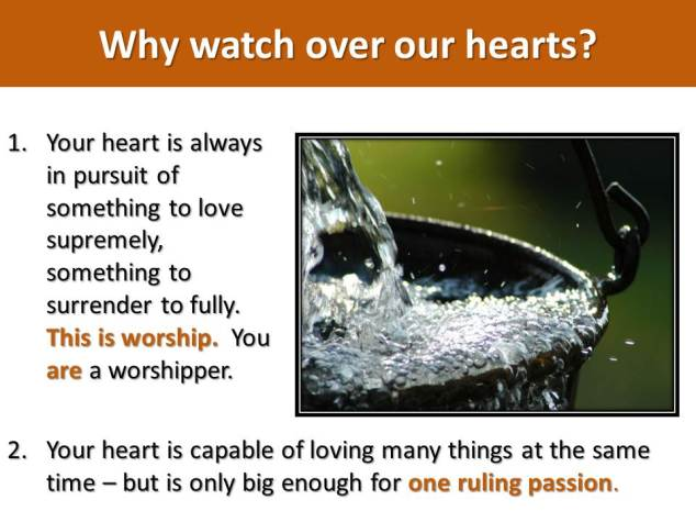 Guard your hearts_Graduation message