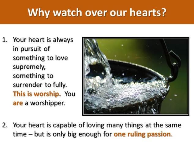 Guard your hearts_Graduation message